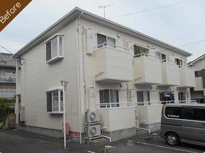広瀬塗装工業の施工事例【Before】